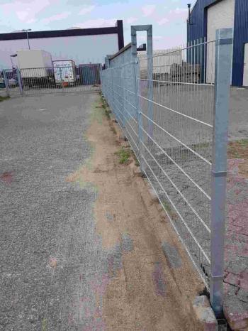 uitneembare hek