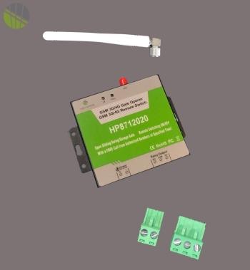 GSM module voor automatisering hekwerk inclusief SIM kaart